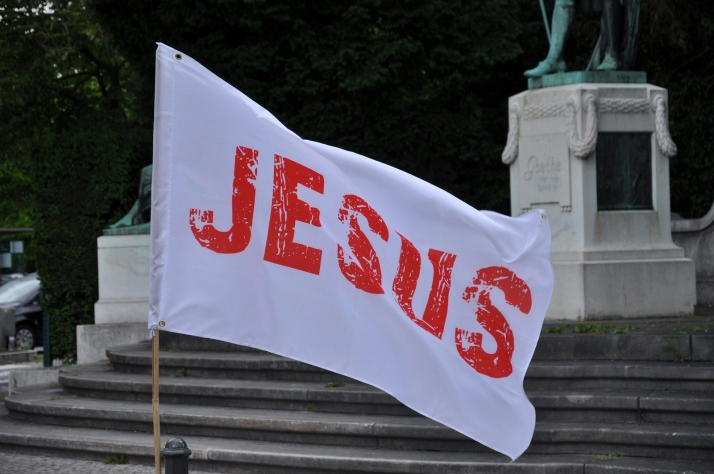 March for Jesus in Strasbourg